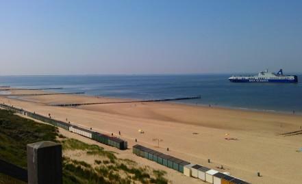 Strandhuisjes op de Zeeuwse zuiderstranden