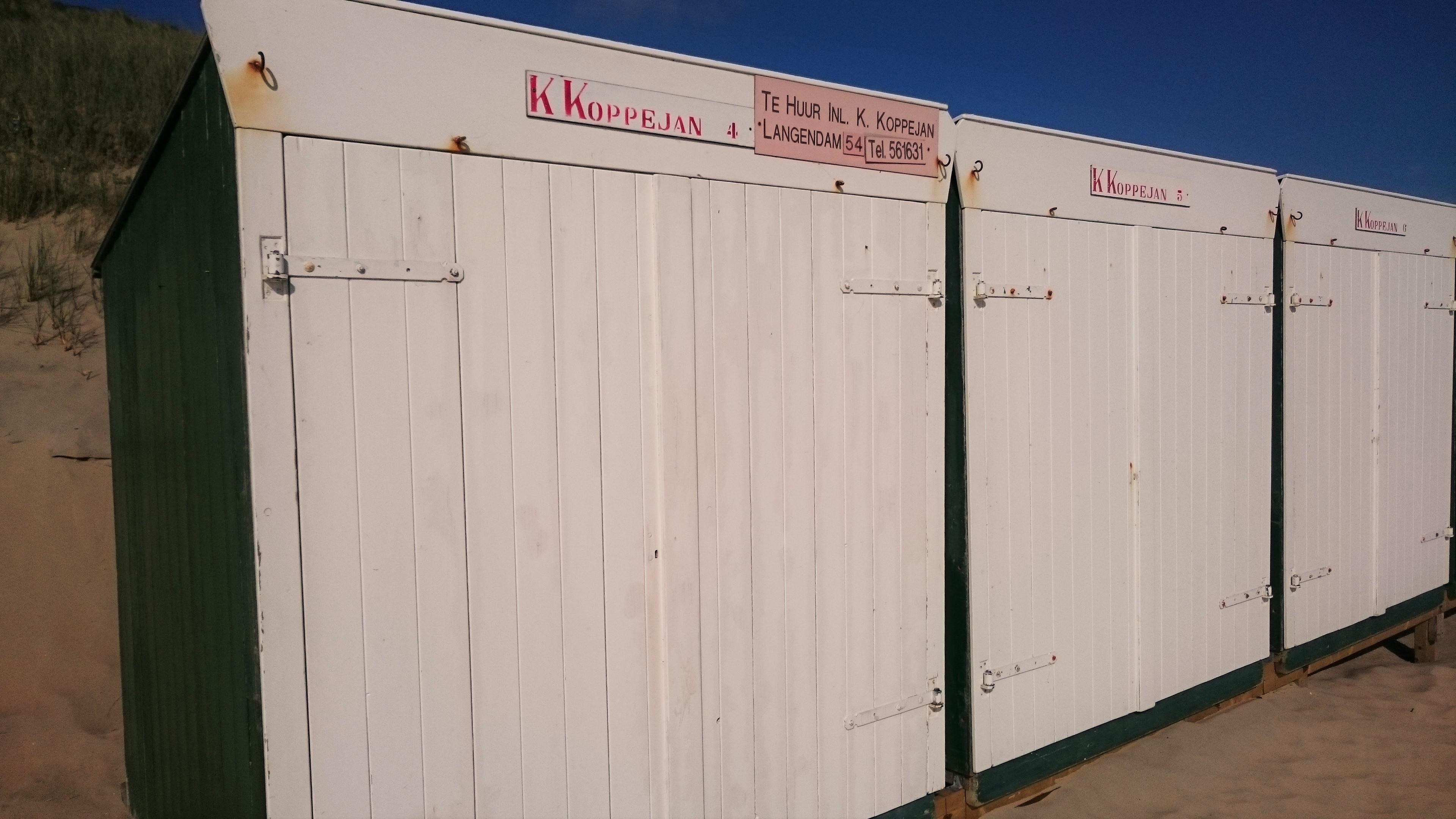 K. Koppejan strandhuisjesverhuur | strandhuisjes.com