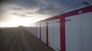 Noordduine strandcabines | strandhuisjes.com